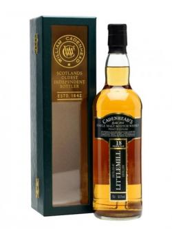 Littlemill 1991 / 18 Year Old / Cadenhead's Lowland Whisky