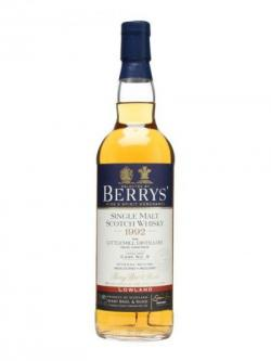 Littlemill 1992 / 20 Year Old / Cask #9 / Berry Bros& Rudd Lowland Whisky