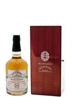 Littlemill 26yo 1988 Burns Malt Old Rare Platinium Hunter Laing