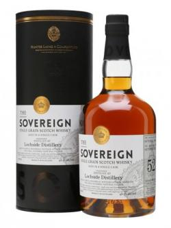 Lochside 1963 / 52 Year Old / Sovereign / Hunter Laing Single Whisky