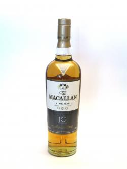 Macallan 10 year Fine Oak Front side