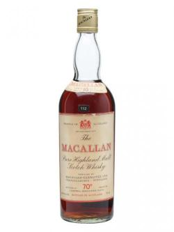 Macallan 10 Year Old / Bot.1960s / Campbell, Hope& King Speyside Whisky