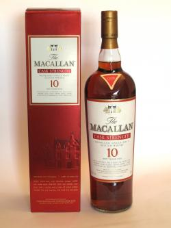 Macallan 10 year Sherry Oak Cask Strength