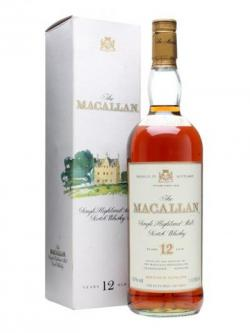 Macallan 12 Year Old / Bot.1990s Speyside Single Malt Scotch Whisky