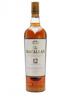 Macallan 12 Year Old / Sherry Oak / Magnum Speyside Whisky
