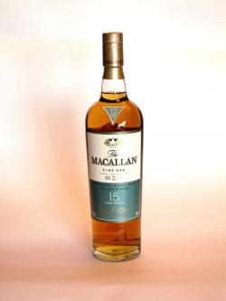 Macallan 15 year Fine Oak Front side