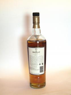 Macallan 18 year Fine Oak Back side