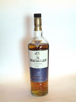 Macallan 18 year Fine Oak Front side