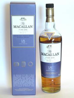 Macallan 18 year Fine Oak