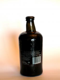 A photo of the back side of a bottle of Macallan 1841 Replica