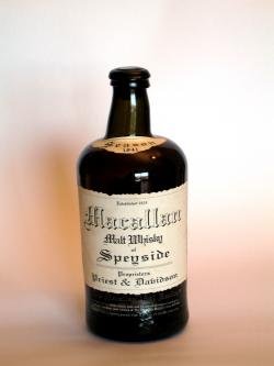 A photo of the frontal side of a bottle of Macallan 1841 Replica