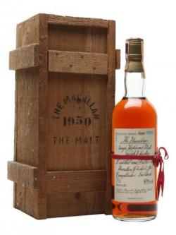 Macallan 1950 / Bot. 1981 Speyside Single Malt Scotch Whisky