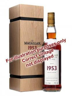Macallan 1952 / 50 Year Old / Fine& Rare #627 Speyside Whisky