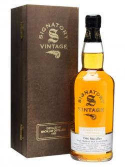 Macallan 1966 / 34 Year Old / Cask #4182 Speyside Whisky