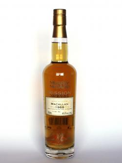 Macallan 1968 Murray McDavid Front side