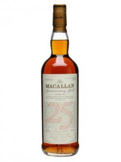 Macallan 1974 / 25 Year Old / Anniversary Malt Speyside Whisky