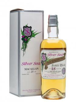 Macallan 1979 / 25 Year Old /  Silver Seal Speyside Whisky