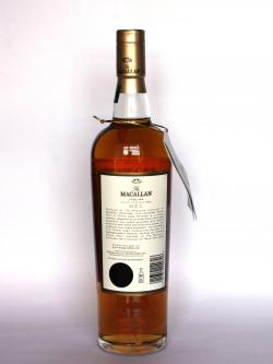 Macallan 21 year Fine Oak Back side