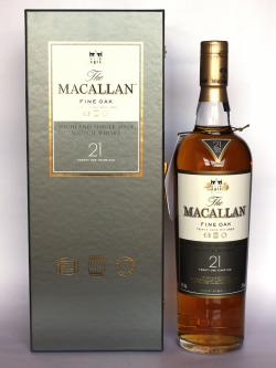 Macallan 21 year Fine Oak