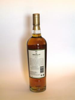 Macallan 25 year Fine Oak Back side