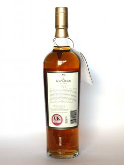 Macallan 30 year Fine Oak Back side