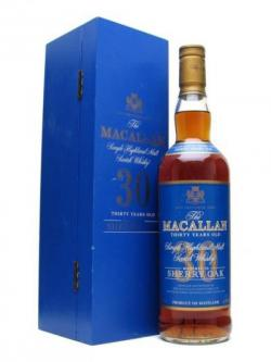 Macallan 30 Year Old / Sherry Oak / Blue Label Speyside Whisky