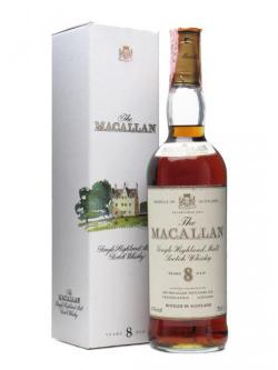Macallan 8 Year Old / Bot.1980's Speyside Single Malt Scotch Whisky