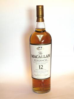 Macallan Elegancia 12 year Front side