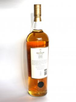 Macallan Fine Oak Whisky Maker's Selection Back side