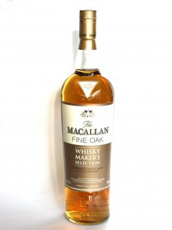 Macallan Fine Oak Whisky Maker's Selection Front side