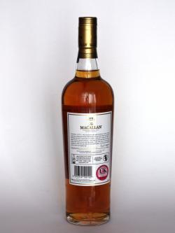 Macallan Gold Back side