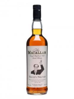Macallan Nicol's Nectar Speyside Single Malt Scotch Whisky