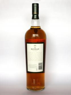Macallan The 1824 Collection Select Oak Back side