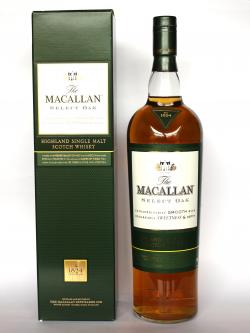 A bottle of Macallan The 1824 Collection Select Oak