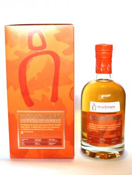 a bottle of Mackmyra 1st Edition