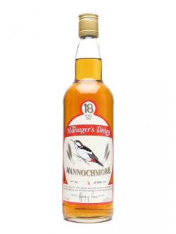 Mannochmore 18 Year Old / Manager's Dram Speyside Whisky