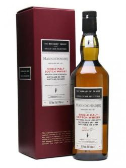 Mannochmore 1998 / Managers' Choice / Sherry Cask Speyside Whisky