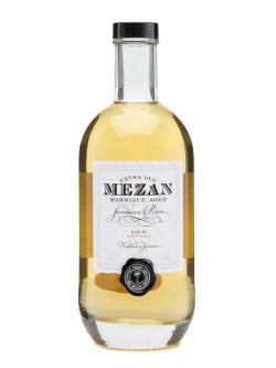 A bottle of Mezan XO Jamaican Rum