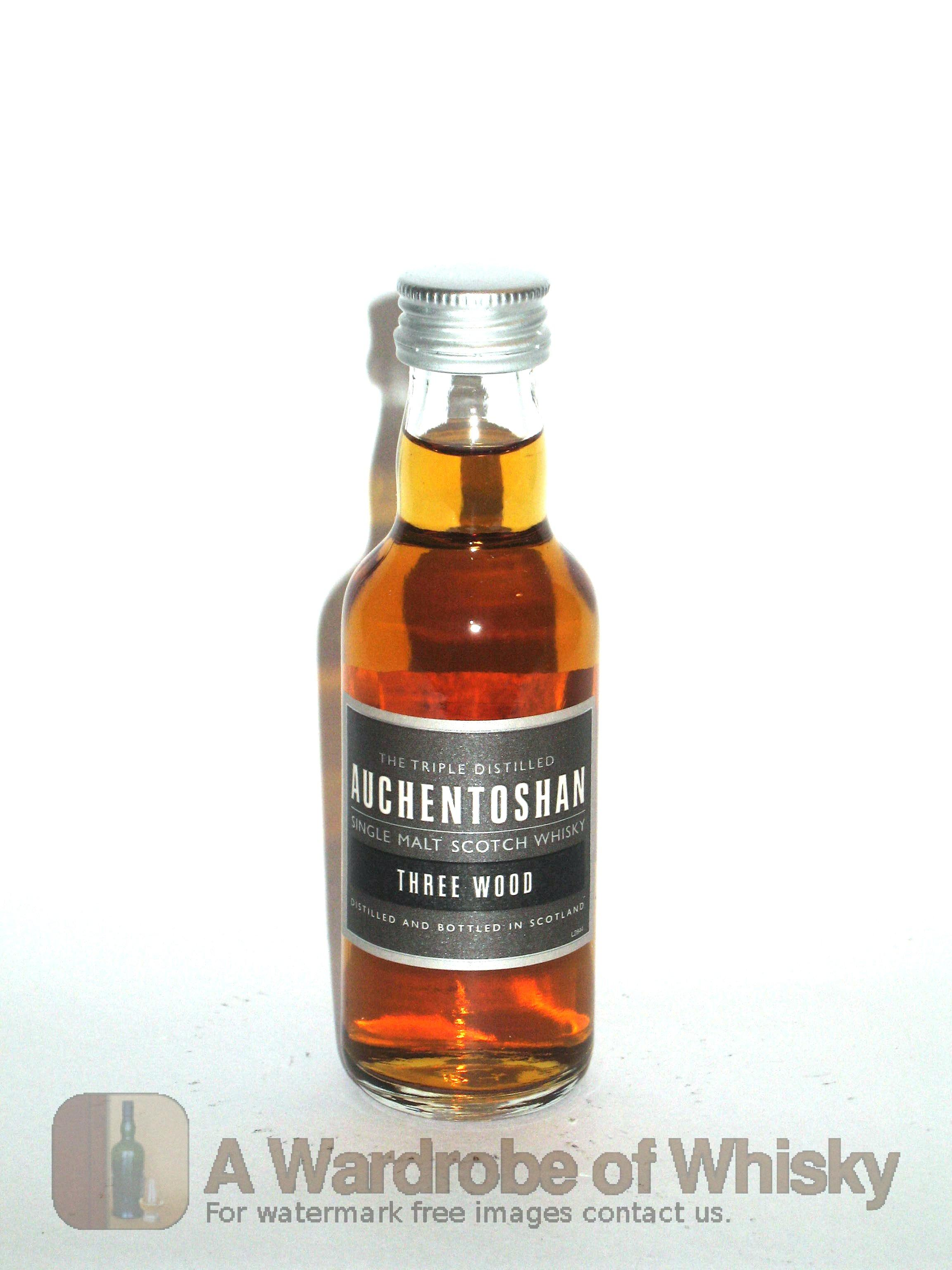 Miniature Of Auchentoshan Three Wood Single Malt Whisky