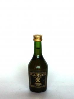 A photo of the frontal side of a bottle of Camus Celebration