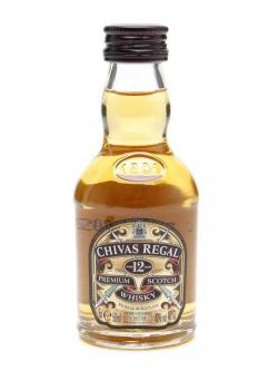 Chivas Regal 12 Year Old Miniature Blended Scotch Whisky Miniature