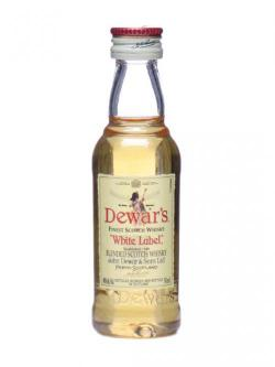 Dewar's White Label Miniature Blended Scotch Whisky Miniature