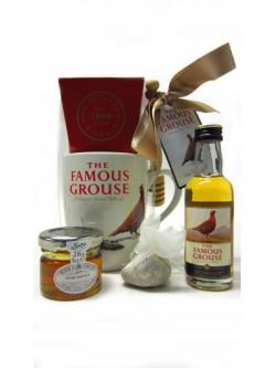 Famous Grouse Hot Toddy Miniature Honey Mug Gift Set