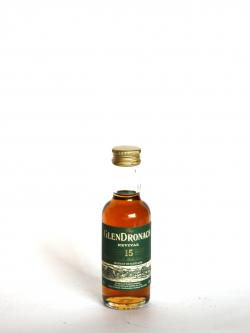 Glendronach 15 year Front side