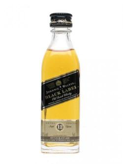 Johnnie Walker Black Label 12 Year Old (Plastic) Miniature