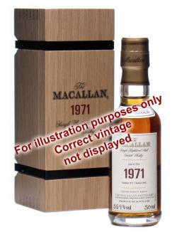 Macallan 1989 Miniature / 21 Year Old Speyside Whisky