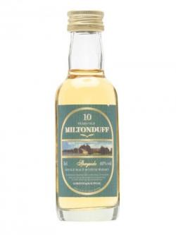 Miltonduff 10 Year Old Miniature / Gordon& Macphail Speyside Whisky