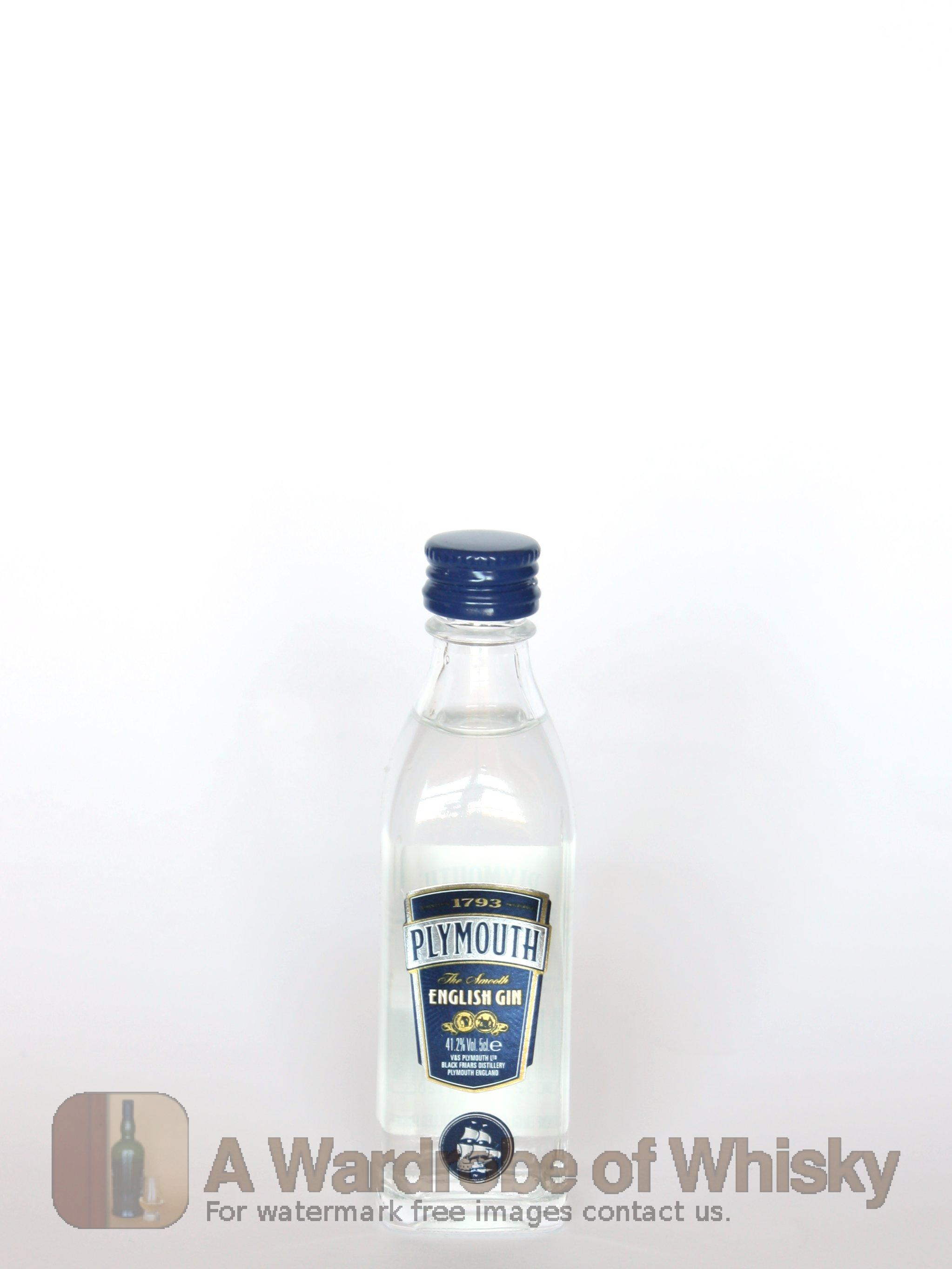 Miniature Of Plymouth Original Gin Miniature Gin Other