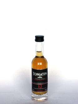 Tomatin 12 year Front side