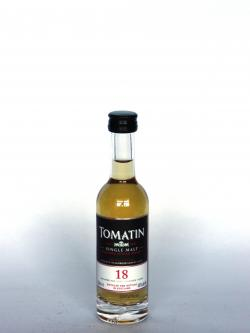 Tomatin 18 year Front side